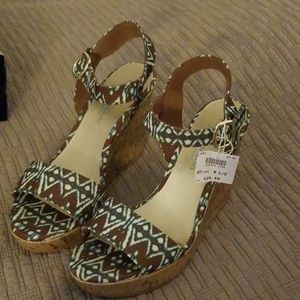 Cute Wedge Sandals...Christian Siriano for Payless